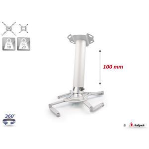 Deckenhalterung QFIX grau 100 mm <20 kg