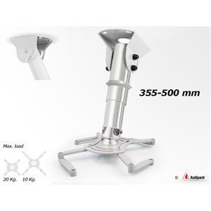 Deckenhalterung QFIX grau 355-500 mm <20 kg