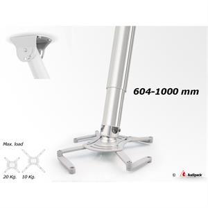 Deckenhalterung QFIX grau 600-1000 mm <20 kg