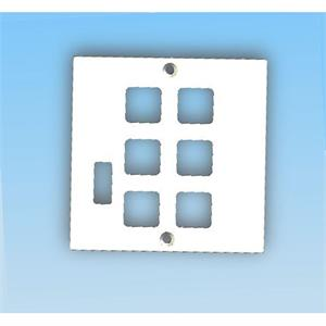 Frontplatte Edizio mit USB