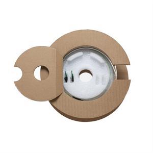 Inhousekabel, 4Fs, 2x LC/APC, Mini-Bobine 80m