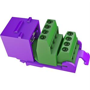 RJ45 ALL-IP Keystone violett