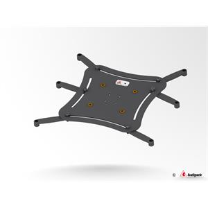 Universalplatte XL schwarz <30 kg