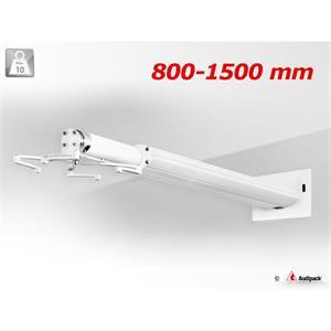 Wandhalterung QFIX weiss 800 - 1500 mm