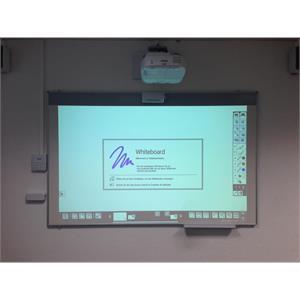 Weisswand-Projektionstafel 179 x 113, 16:10 FT