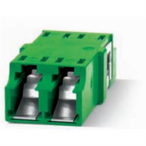 1 x LC Duplex mit Staub- und Laserschutz