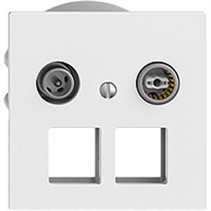 Combi-Set prise multimédia 2GHz DB04 EDIZIO