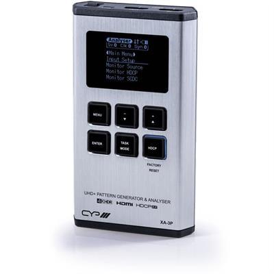 Générateur, analyseur et testeur de câbles HDMI portable