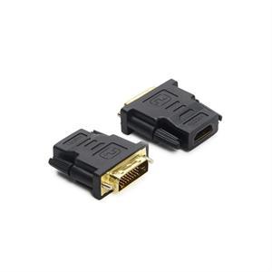 HDMI (f) / DVI (m) Adaptateur, WUXGA, blindé