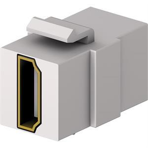 HDMI Keystone 4K/60Hz F/F blanc