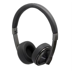 Maze Black On-Ear Headphones