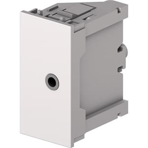 Module jack 3,5 mm F/F blanc