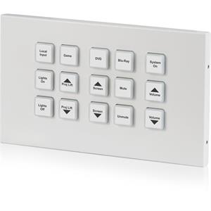 Panneau de contrôle 15 touches - IP & Relais (2-fois)