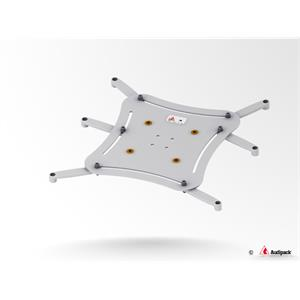 Plaque universelle XL gris <30 kg