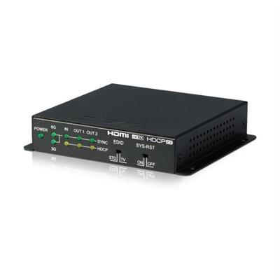 Splitter HDMI 2 canaux 4K