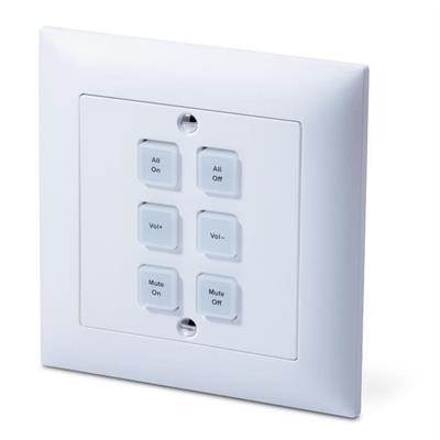 Controllore IP a 6 tasti compatibile con Feller EdizioDue