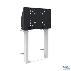 "Elevatore a parete a pavimento XXL/86""/120 kg/altezza regolabile 870 mm/bianco"