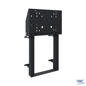 """Elevatore a parete a pavimento XXL/86""""/120 kg/altezza regolabile 870 mm/nero"""