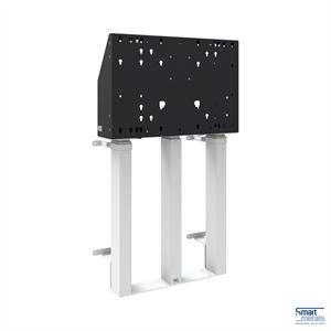 "Elevatore a parete a pavimento XXL/98""/180 kg/altezza regolabile 870 mm/bianco"