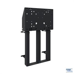 """Elevatore a parete a pavimento XXL/98""""/180 kg/altezza regolabile 870 mm/nero"""