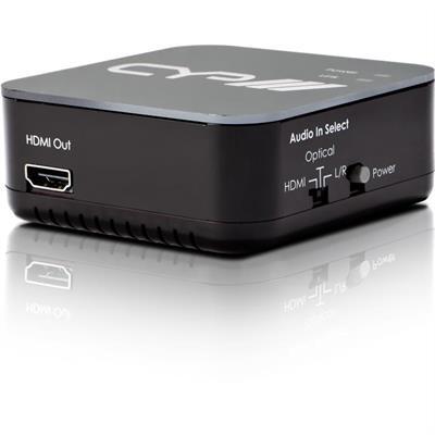 Embedder audio HDMI con ripetitore integrato