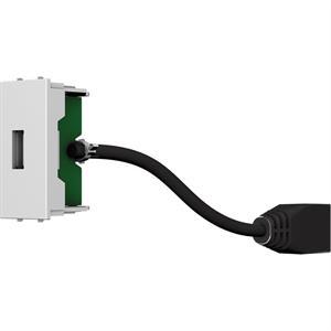 Modulo USB A-B F/F con cavo da 200 mm