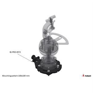 Piastra di montaggio BJ-PRO Quick release 100 x 100 mm