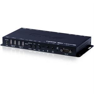 Ricevitore HDMI / VGA su IP con USB